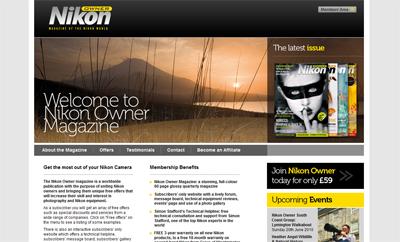 Nikon Owner magazine Website
