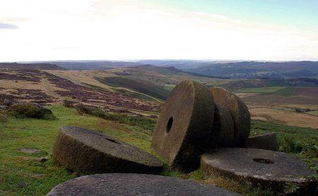 Derbyshire millstones