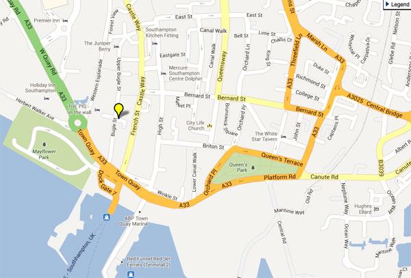 Queen's Park Map