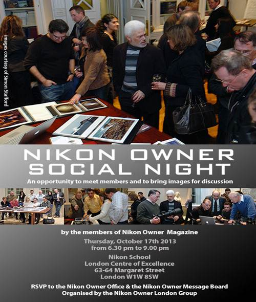 Nikon Owner Social Night