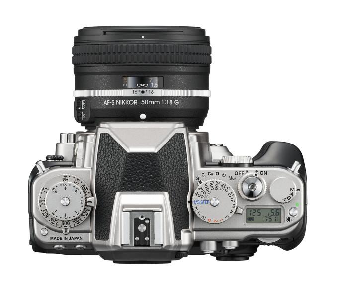 The Nikon Df - top view