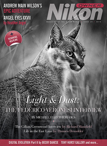 Nikon Owner magazine Cover - issue 55